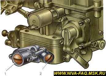 Устройство и ремонт карбюратора ваз 2130