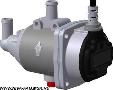 Установка электроподогревателя двигателя северс м