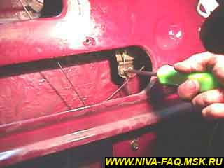 b1 08 - Уплотнитель стекла двери нива
