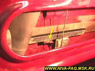 b1 10 - Уплотнитель стекла двери нива