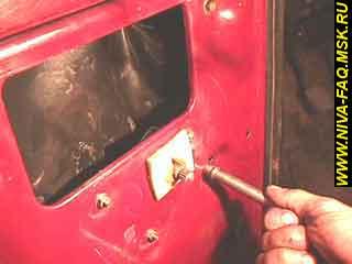 b1 12 - Уплотнитель стекла двери нива