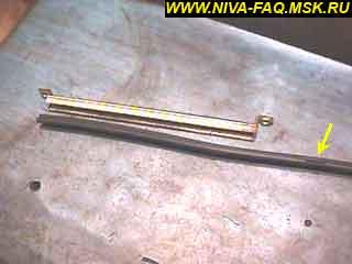 b2 22 1 - Уплотнитель стекла двери нива
