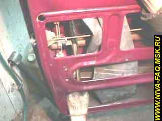 b3 11 - Уплотнитель стекла двери нива