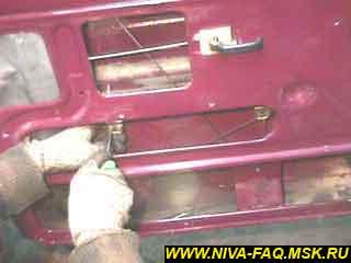 b5 06 - Уплотнитель стекла двери нива
