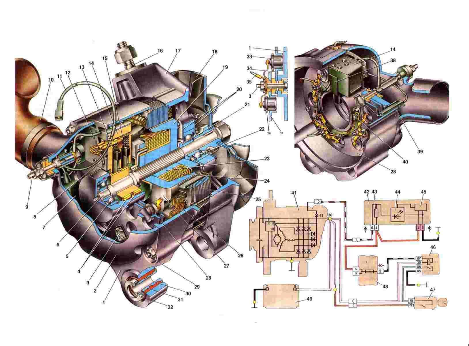 Ремонт генератора нивы
