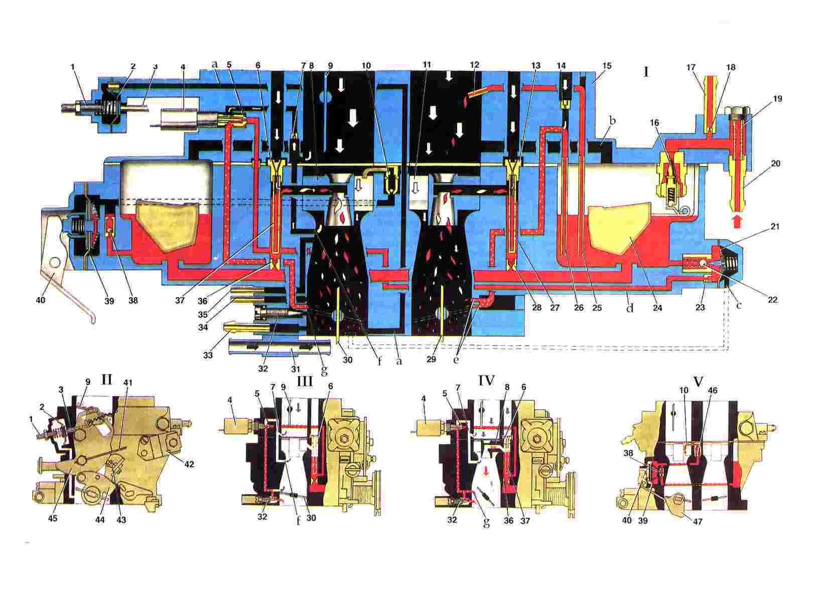 Схема карбюратора солекс 21083 фото 507